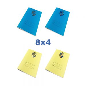 8x4 Exercise Books With Logo