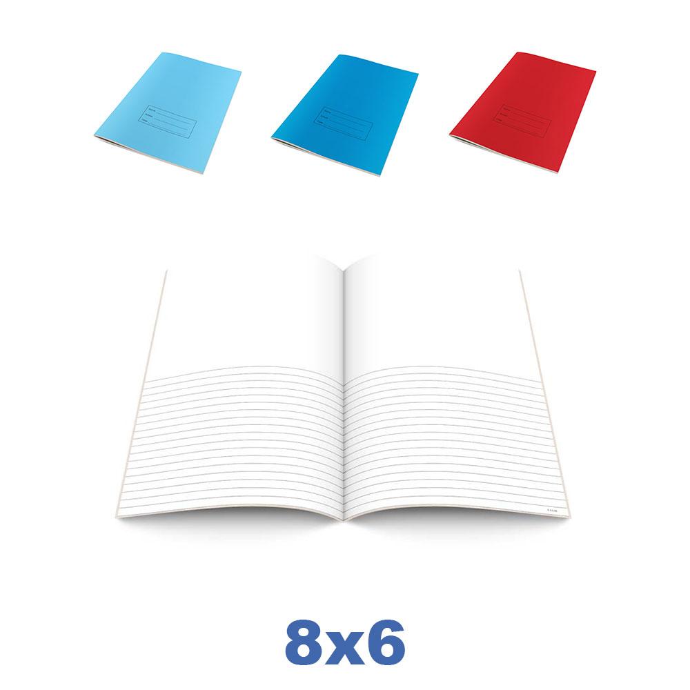 8x6 Bespoke Exercise Books