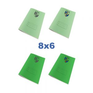 8x6 Exercise Books With Logo