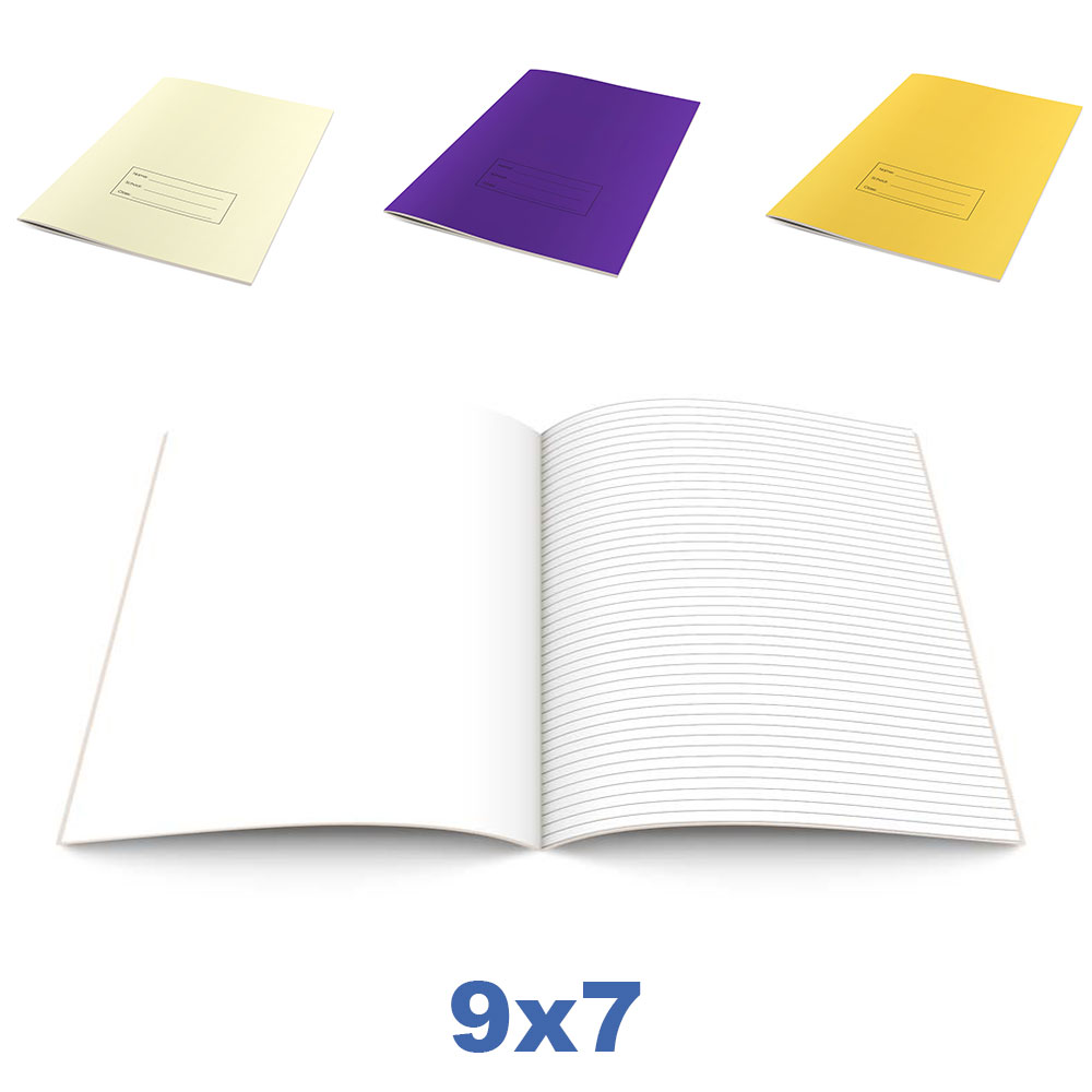 9x7 Bespoke Exercise Books