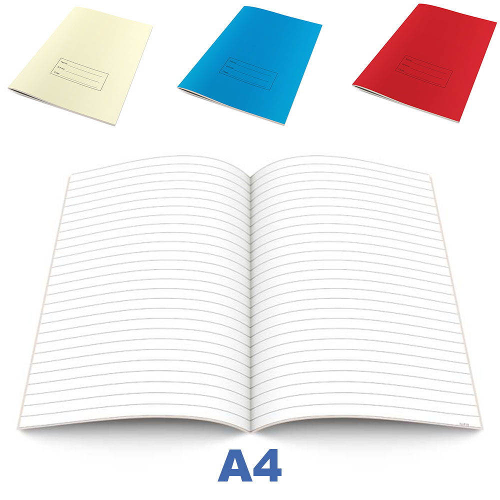 A4 Bespoke Exercise Books