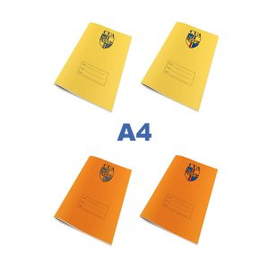 A4 Exercise Books With Logo