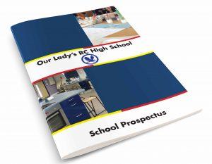 school prospectus cover