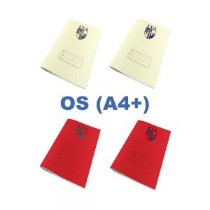 OS (A4+) Exercise Books With Logo